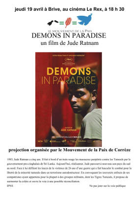 "Brive: projection de ""Demons in paradise"" @ Brive"